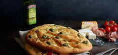 Chlieb Fougasse - recept od Coolinári   food blog Hot Dog Buns, Pie, Bread, Desserts, Blog, Basket, Torte, Tailgate Desserts, Cake