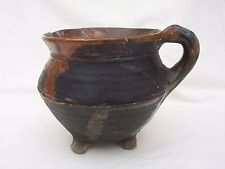 Medieval Pottery Pipkin c. (14th - (15th A.D.