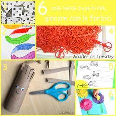 6 idee prese in rete per... giocare con le forbici