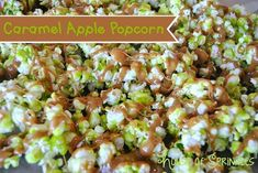 House of Sprinkles: Caramel Apple Popcorn Best Popcorn, Popcorn Snacks, Candy Popcorn, Gourmet Popcorn, Popcorn Recipes, Popcorn Balls, Popcorn Shop, Pop Popcorn, Candy Apples