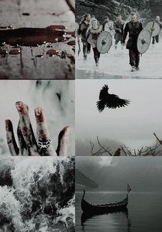 Vikings collage  #vikings #ragnarlodbrok #aesthetic #art #collage