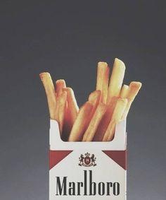 In plaats van roken