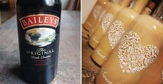 Domáci Baileys - Receptik.sk Starbucks Iced Coffee, Baileys, Coffee Bottle, Whisky, Minis, Cream, Cooking, Food, Syrup