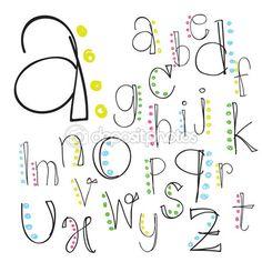 lettering abecedario - Buscar con Google