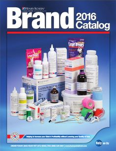 Hot off the presses, our 2016 Brand Catalog, full of items to help you increase  your clinic's profitablity without lowering the quality of care!