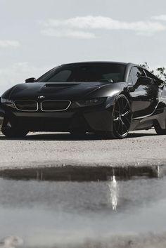 Awesome BMW 2017: Black BMW i8 Motors