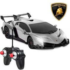 1/24 Officially Licensed RC Lamborghini Veneno Sport Racing Car W/ 27MHz Remote #BestChoiceProducts