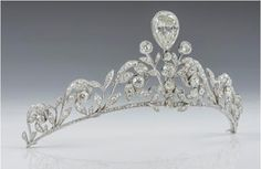 The Lannoy Tiara (Belgian) 270 old cut brilliant diamonds