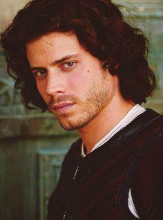 Francois Arnaud as Cesare Borgia <3