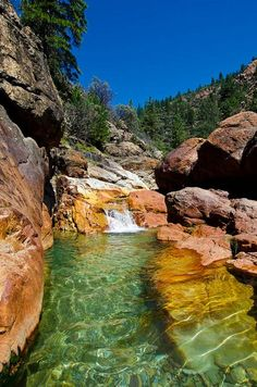 Little Backbone Creek, Whiskeytown–Shasta–Trinity National Recreation Area, near Redding, California by Ron Kroetz Oh The Places You'll Go, Places To Travel, Places To Visit, Camping Places, Dream Vacations, Vacation Spots, Vacation Ideas, California Usa, Redding California