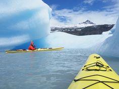 Kayaking in Patagonia.