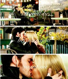 It will be because you love me...OH this is perfect. AHHHH HE SOLD HIS SHIP TO BE WITH EMMA AHHHH SO CUTE!!!!!