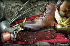 Medieval 14th - 15th century shoes/ boots www.facebook.com/pkk.reko