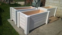 Garden Yard Ideas, Backyard Projects, Garden Boxes, Diy Pallet Projects, Outdoor Projects, Wood Projects, Large Wooden Planters, Wood Planters, Garden Planters