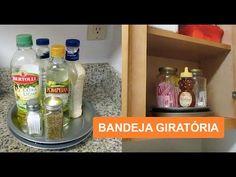 DIY/BANDEJA GIRATÓRIA/ LAZY SUSAN/LETICIA ARTES - YouTube