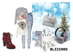 """fashionable blizzard"" by sweetytrends ❤ liked on Polyvore featuring Nine West and Givenchy"