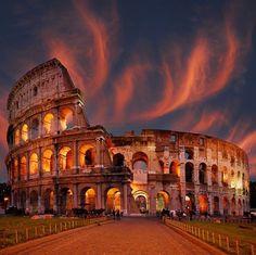The Colosseum in Rome • photo: Marianna Safronova on PhotoNet
