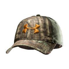 Men's UA Camo 2-Tone Stretch Fit Cap Headwear « Impulse Clothes