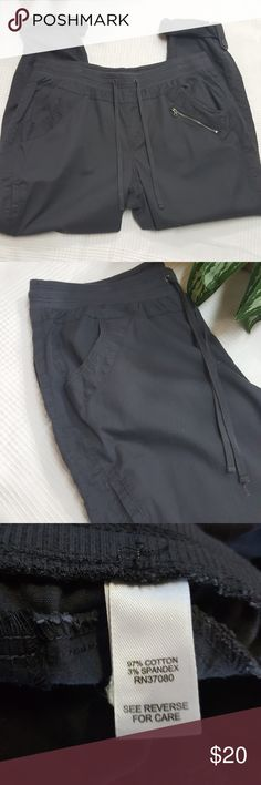 "Cato Gray Drawstring Pants 18/20 In like new condition. Gray drawstring pant.  Size 18/20. 36"" waist, 12"" rise, 29"" inseam when uncuffed. All measurements are approximate. Cato Pants"