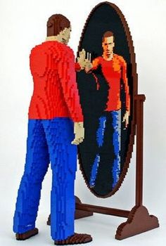 Lego Sculpture