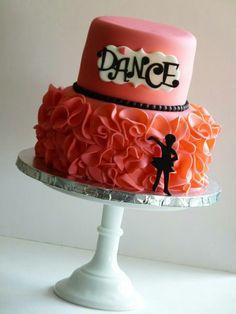 Dancer cake #mimissweetcakesnbakes #dancecake #dance