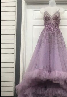 Dresses - Pageant Planet Pageant Dresses, Formal Dresses, Bridal Elegance, Mac Duggal, Lilac Color, Sequin Top, Are You The One, Bodice, Ball Gowns
