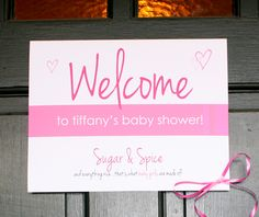 Mommyhood by, Jess: Sugar & Spice Baby Shower