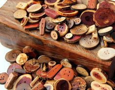 Hey, I found this really awesome Etsy listing at https://www.etsy.com/listing/92574413/huge-handmade-wooden-button-lot-100