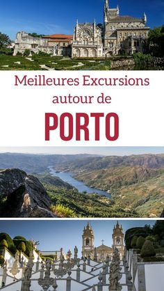 Portugal Travel Guide - Best day trips from Porto Portugal - plan you trip with Douro Valley wine tasting tours, Unesco sites and National parks. Portugal Nord, Douro Portugal, Visit Portugal, Spain And Portugal, Europe Travel Tips, Spain Travel, European Travel, Travel Destinations, Euro Travel