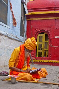People of Varanasi 006 - Sadhu - Wikipedia, the free encyclopedia Varanasi, Agra, Taj Mahal, R India, Amazing India, Free Adult Coloring Pages, India Culture, Indie Art, India People