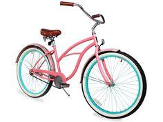 Sixthreezero Paisley Single Speed Women S 26 Beach Cruiser Bike