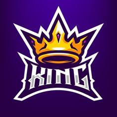 Ilustración de la mascota de king crown ... | Premium Vector #Freepik #vector #logo #divisa #corona #equipo Dog Logo Design, Game Logo Design, Game Wallpaper Iphone, Phone Wallpaper Images, Esports Logo, Crown Logo, Mundo Comic, Kings Crown, Dark Blue Background
