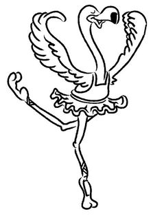 image result for printable flamingo coloring pages adult