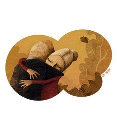 Old Love / Amor añejo Old Love, Kids Rugs, Illustration, Prints, Stuff To Buy, Home Decor, Amor, Advertising, Illustrations