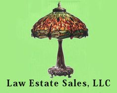 Pittsburgh Estate Sales, this is the advertising icon for Law Estate Sales in Pgh.  Funny but I purchased the set of this lamp and it's pair at a sale earlier this year.