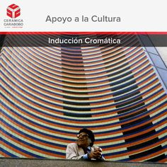 La obra Inducción Cromática del artista cinético venezolano Carlos Cruz Diez fue elaborada con baldosas de Cerámica Carabobo. Ésta importante obra posee un tamaño de 43m x 7m y está ubicada en la Torre Stratos de la ciudad de Valencia.