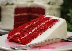 Beyond Wonderful Red Velvet Cake..Scott's and my favorite cake ever!