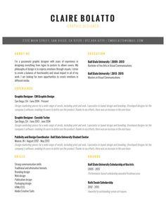 Custom Resume  Resume Template  Cv Template  Cover Letter