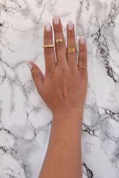 Gold Standard Ring Set - Gold | Fashion Nova