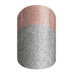 This sparkle wrap has a rose gold tip on top of silver.      #AllDressedUpJN