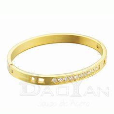 brazaletes de cobre limpios modelos de pulseras doradas con circones de joyas de moda