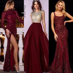Qual vestido você usari Long Bridesmaid Dresses, Prom Dresses, Formal Dresses, Instagram, Fashion, Embroidery Dress, Party Fashion, Vestidos, Dresses For Formal