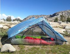 Ultralight Two Person Tent | ZPacks | Lightest 2 Person Tent  - 21 oz (+ 1.76-3.68oz for stakes) (+ 4oz for suppoert poles, +10oz for freestanding pole upgrade) - $599 (+150 for flex tent w/poles upgrade[freestanding] or +60 for poles[instead of trekking poles])