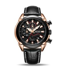 Cheap hombre, Buy Quality hombre reloj Directly from China Suppliers:MEGIR Creative Quartz Men Watch Leather Chronograph Army Military Sport Watches Clock Men Relogio Masculino Reloj Hombre 2065 Mens Sport Watches, Mens Watches Leather, Leather Men, Soft Leather, Army Watches, Cool Watches, Watches For Men, Citizen Watches, Popular Watches