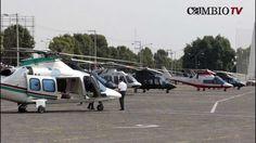 Gobernadores exhiben sus lujosos helicópteros con valor conjunto de 100 ...