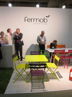 Fermob's Neon-Colored Aluminum Outdoor Furniture