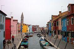 Burano Italy: island of Burano in Venice Lagoon