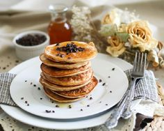 coconut and cocoa nib pancakes and other yummy cocoa nibs for breakfast ideas