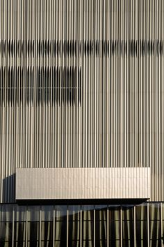 stainless steel tube cladding, Wyly Theatre, Dallas, Rem Koolhaas.