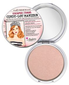 """""""Technically, Cindy-Lou Manizer (get it?) is a highlighter, shimmer AND shadow in one, but I'm here for the highlighting goodness."""" - Hello Giggles"""